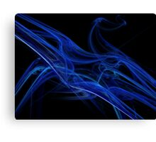 Echo Abstract Flame Fractal Canvas Print