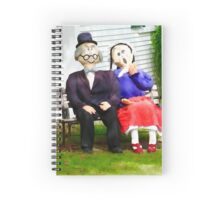 Love growing old with you Spiral Notebook