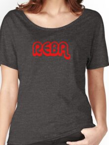 Reba (red) Women's Relaxed Fit T-Shirt