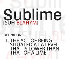 Sublime by AndrewBerry