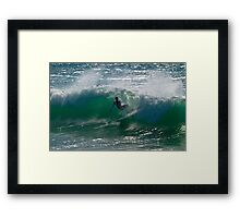 The Awful Moment of Truth Framed Print