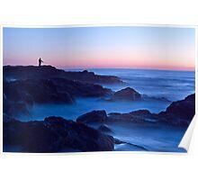 Dawn at Currumbin Beach Poster