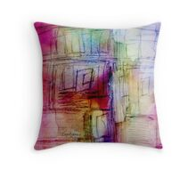 Cryptic Throw Pillow