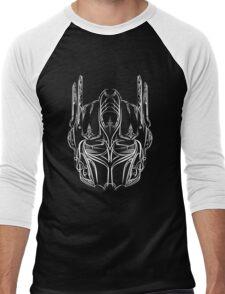 Pinstripe Prime (white version) Men's Baseball ¾ T-Shirt
