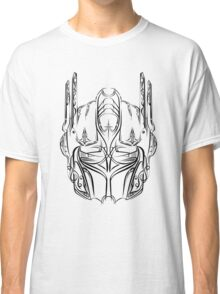 Pinstripe Prime (black version) Classic T-Shirt