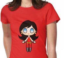 Wonder Girl Plush 2 Womens Fitted T-Shirt