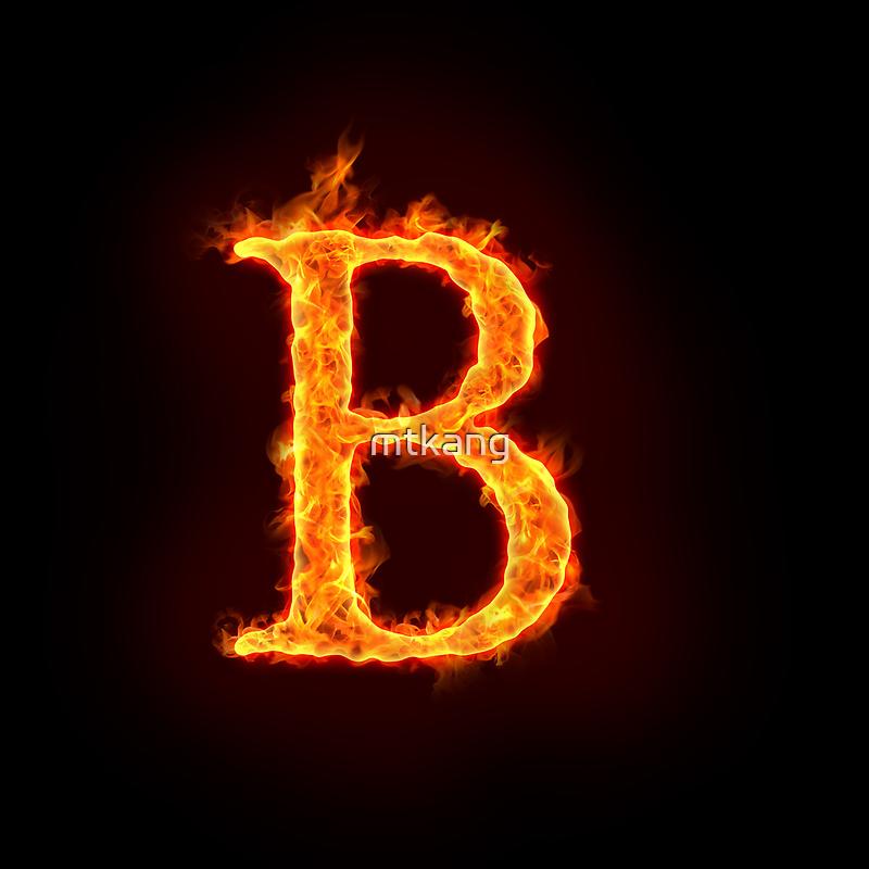 Alphabet in Fire Fire Alphabet by Mtkang