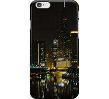 Chicago by Night iPhone Case/Skin