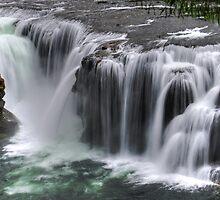 Lower Lewis Falls by Jennifer Hulbert-Hortman