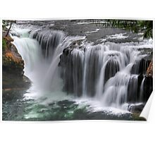 Lower Lewis Falls Poster
