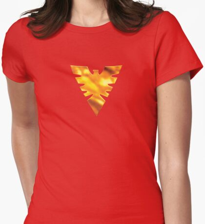 Rise from the Ashes Womens Fitted T-Shirt