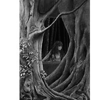 FOREST WITCH Photographic Print