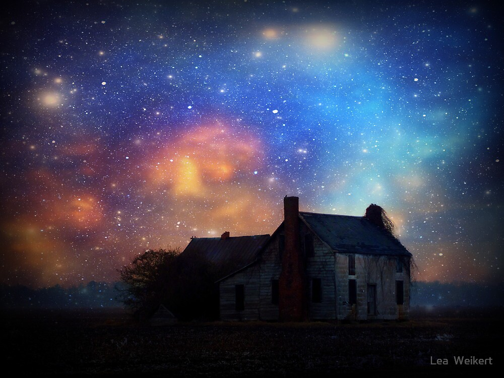 """""""When it is Dark Enough, You Can See the Stars"""" by Lea  Weikert"""