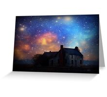 """""""When it is Dark Enough, You Can See the Stars"""" Greeting Card"""