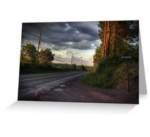 Along Route 118 Greeting Card