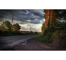 Along Route 118 Photographic Print