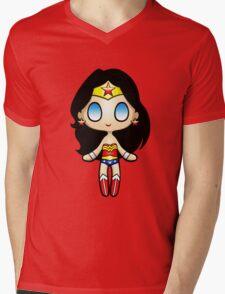 Wonder Plush Mens V-Neck T-Shirt
