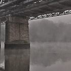 Foggy Morning by the Bridge by mindy23