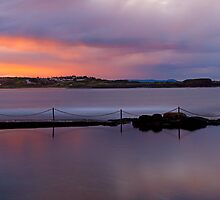 Kiama Harbour Rockpool on Dusk by Marty O'Donnell