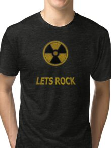 Duke Nukem - Lets Rock Tri-blend T-Shirt