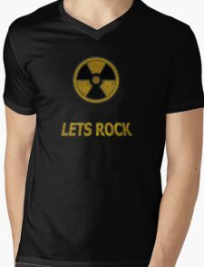 Duke Nukem - Lets Rock Mens V-Neck T-Shirt