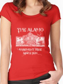 The Alamo Basement Women's Fitted Scoop T-Shirt