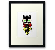 Batgirl Plush Framed Print