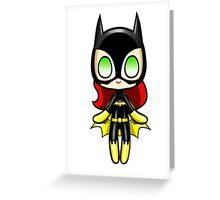 Batgirl Plush Greeting Card