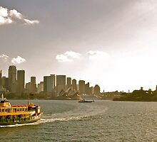 Lady Northcott - Sydney Harbour by Nick Rocco
