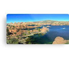 Granite Dells Metal Print