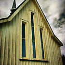 Anglican Church - Ohaeawai, Northland, New Zealand. by Lynne Haselden