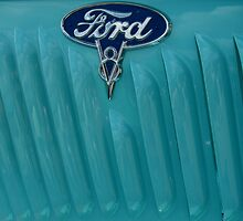 35 Ford Pickup Side Fender by Debbie Robbins