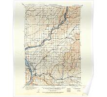 USGS Topo Map Washington Wallula 244519 1918 125000 Poster