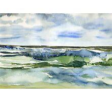 Seaside - day 27 Photographic Print