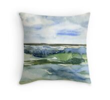 Seaside - day 27 Throw Pillow
