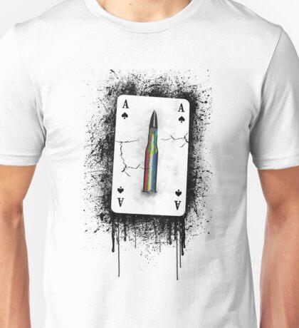 Peace bullet Unisex T-Shirt