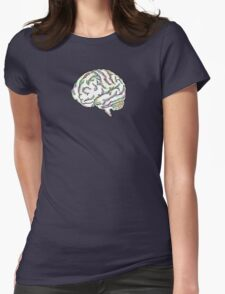 Zany Brainy Womens Fitted T-Shirt