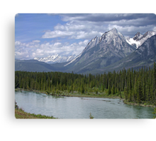 Welcome to Banff Canvas Print