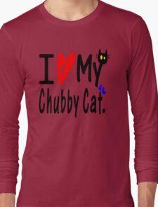 Chubby Cat Long Sleeve T-Shirt