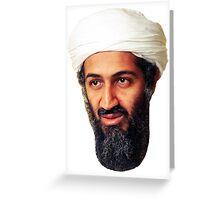 Osama Bin Ladin Greeting Card