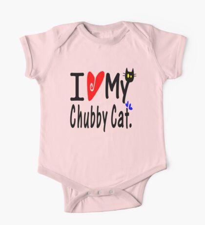 Chubby cat One Piece - Short Sleeve