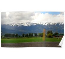 Snow Capped Mountains 01 Poster