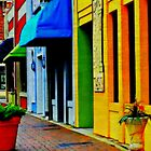 Morning Walk in Marietta Square by Scott Mitchell