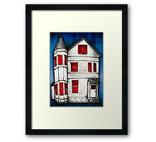 united state of decay Framed Print