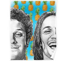 Seth Rogen & James Franco Poster