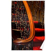 0131  Stair Detail Poster
