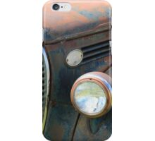 Vintage Truck Grill iPhone Case/Skin
