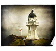 Cape Reinga Lighthouse, New Zealand (II) Poster