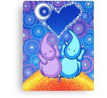 Cosmic Soul Mates Canvas Print