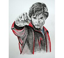 Portraits of Tom Welling, Clark Kent of Smallville Photographic Print